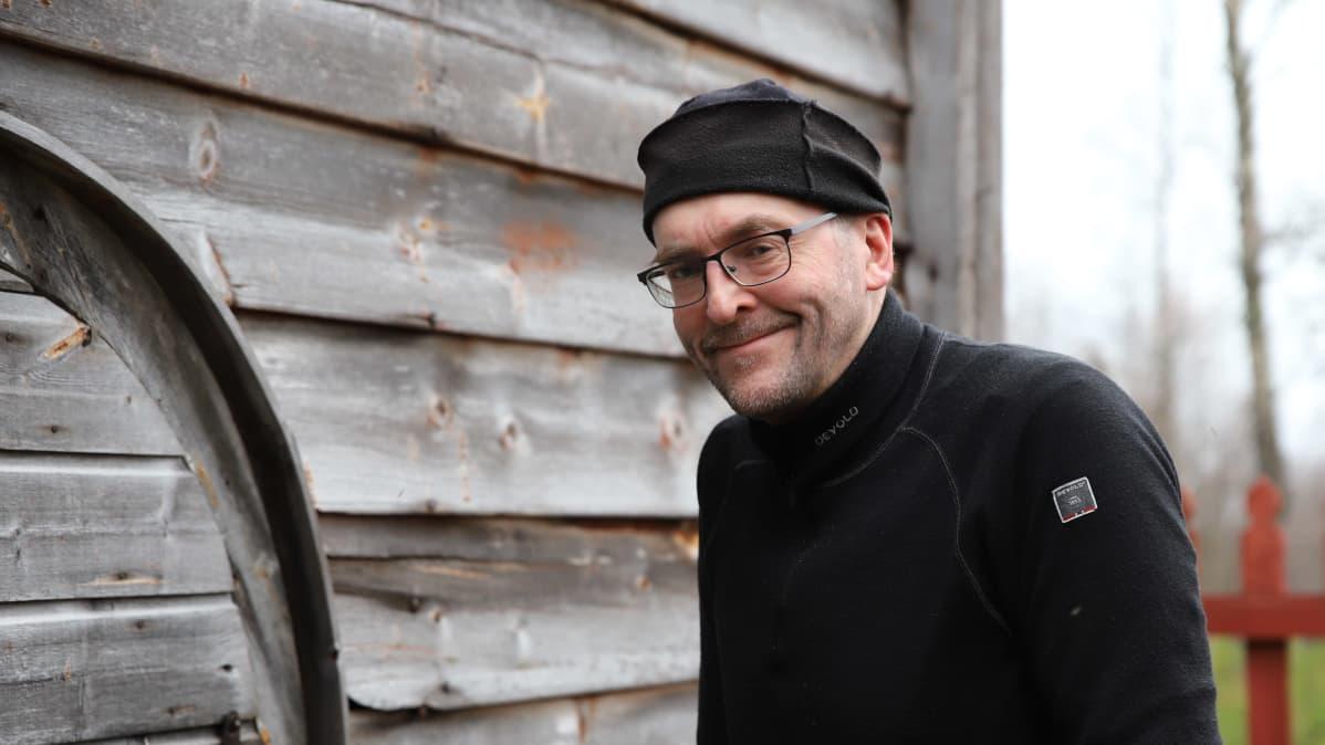 Inarin kirkkoherra Tuomo Huusko