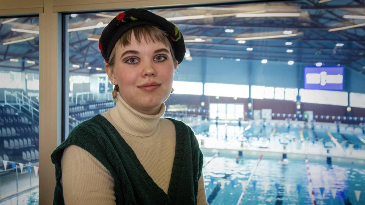 Vasemmistoliiton kuntavaaliehdokas Ava Dahlvik