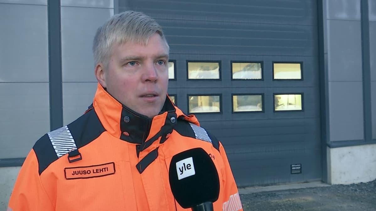 Yrittäjä Juuso Lehti, Veikko Lehti Oy:stä