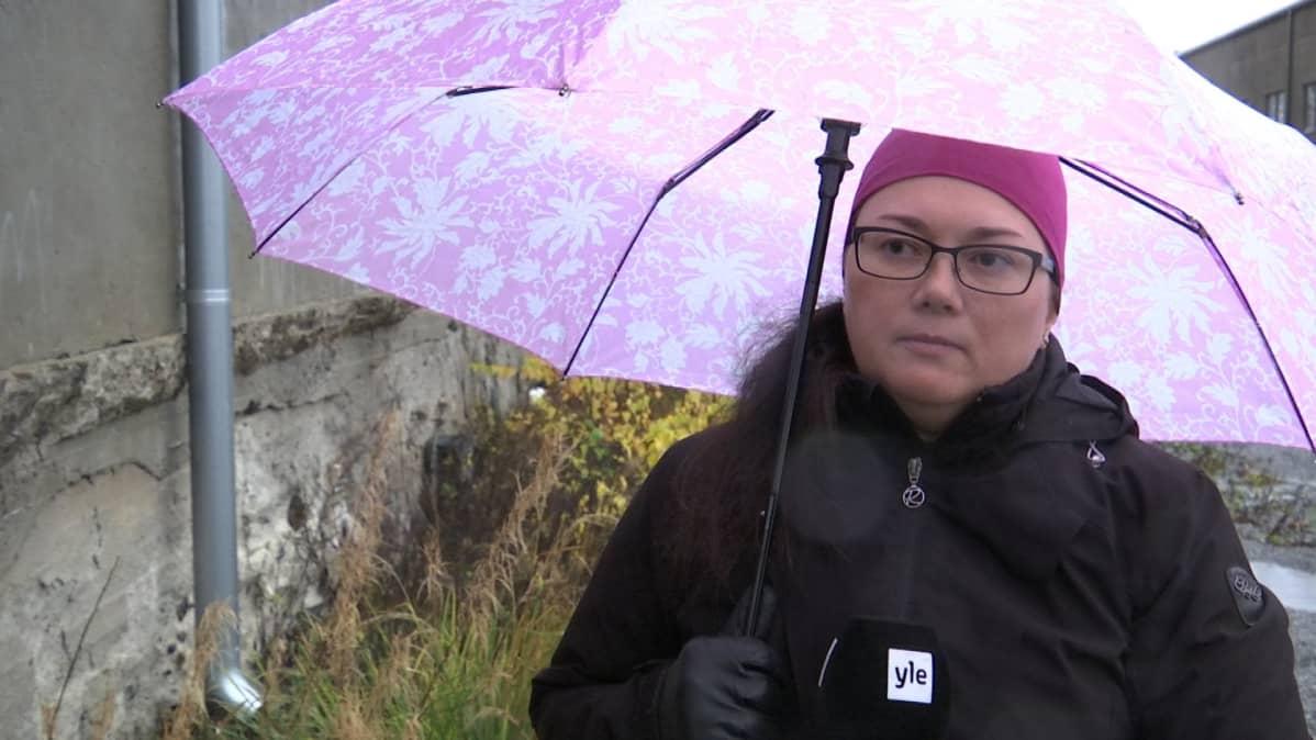 Vaasan kaupungin terveysinsinööri Ilona Peurala haastattelussa