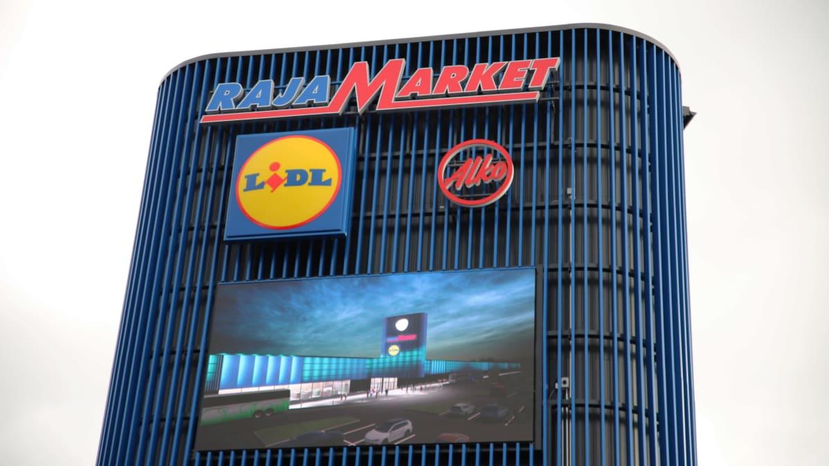 Skandinavian Shopping Center Vaalimaalla