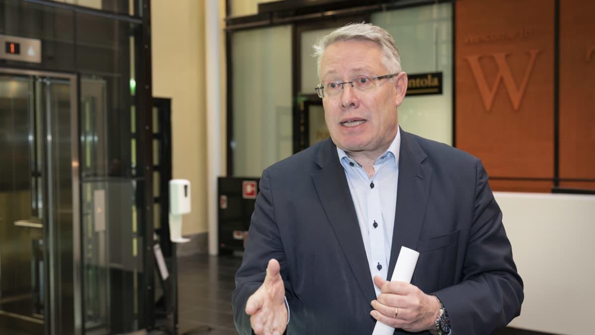 Keskuskauppakamarin kansainvälisten asioiden johtaja Timo Vuori