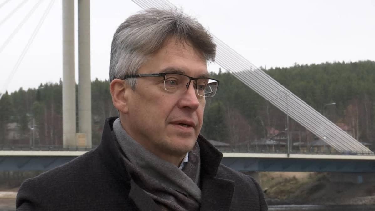 Lapland Hotels toimitusjohtaja Ari Vuorentausta