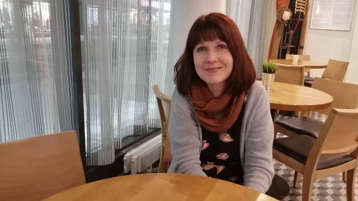 Teologian tohtori Heli Pruuki.
