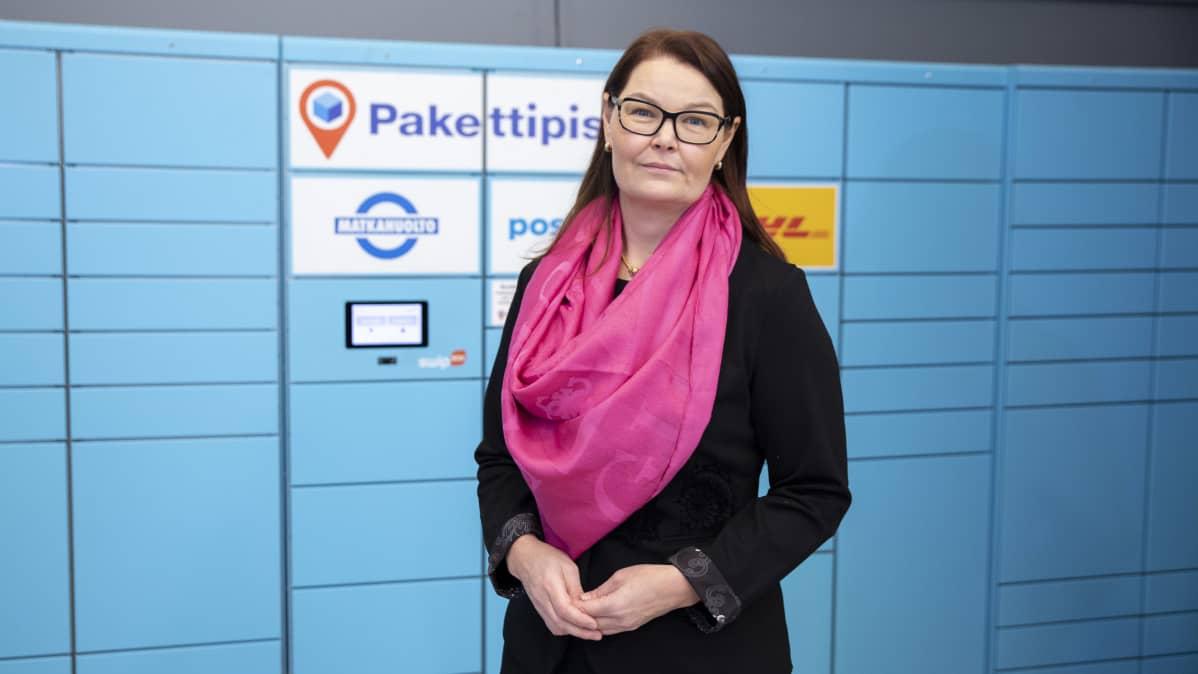 Vallila - Matkahuolto,  Kati Nevalainen, johtaja, pakettipalvelut, Matkahuolto