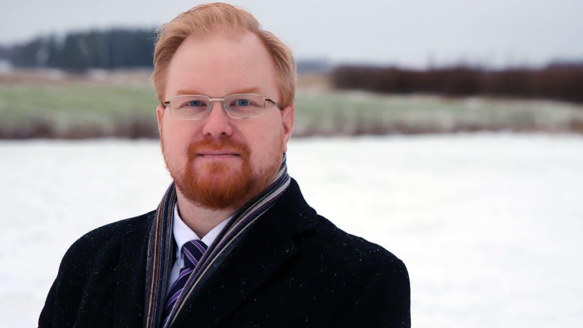 Joroisten kunnanjohtaja Joonas Hänninen.