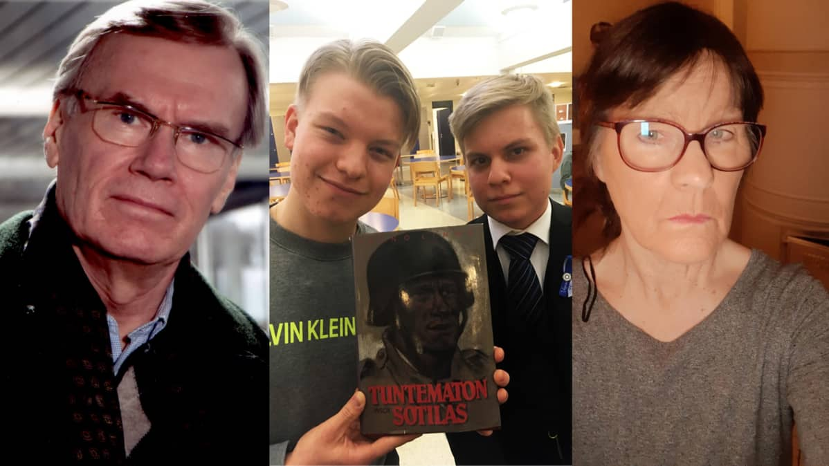 Juhani Laine, Eemil Mäkimattila, Arttu Kinnunen ja Päivi Armila