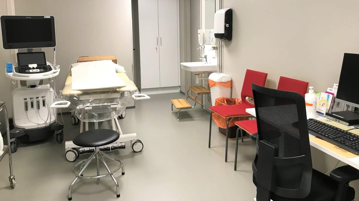 Lahden perhekeskuksen terveydenhoitohuone
