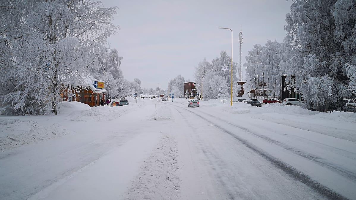 Tervolan kunnan keskustan tie.