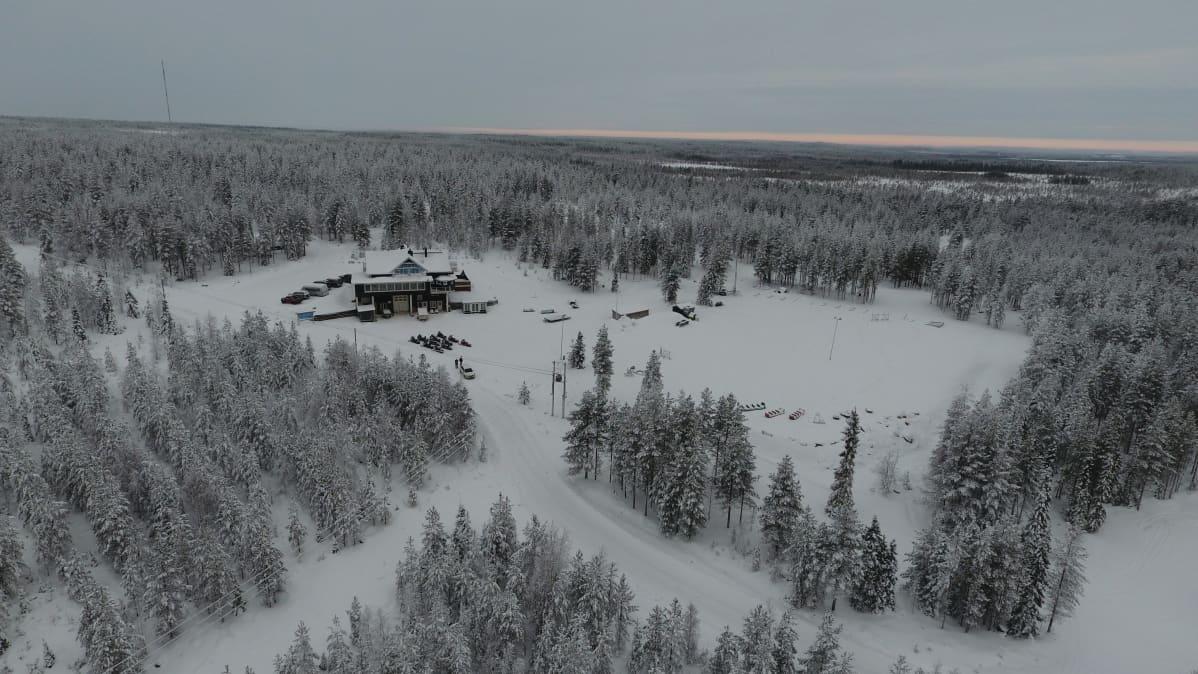 Lumi Resort Rovaniemen Ollerovaarassa