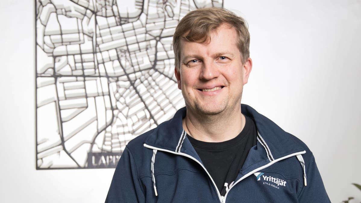 Etelä-Karjalan yrittäjien toimitusjohtaja Jami Holtari