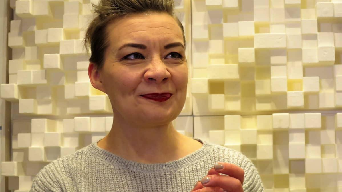 Viestintäkouluttaja Katleena Kortesuo Hämeenlinnasta