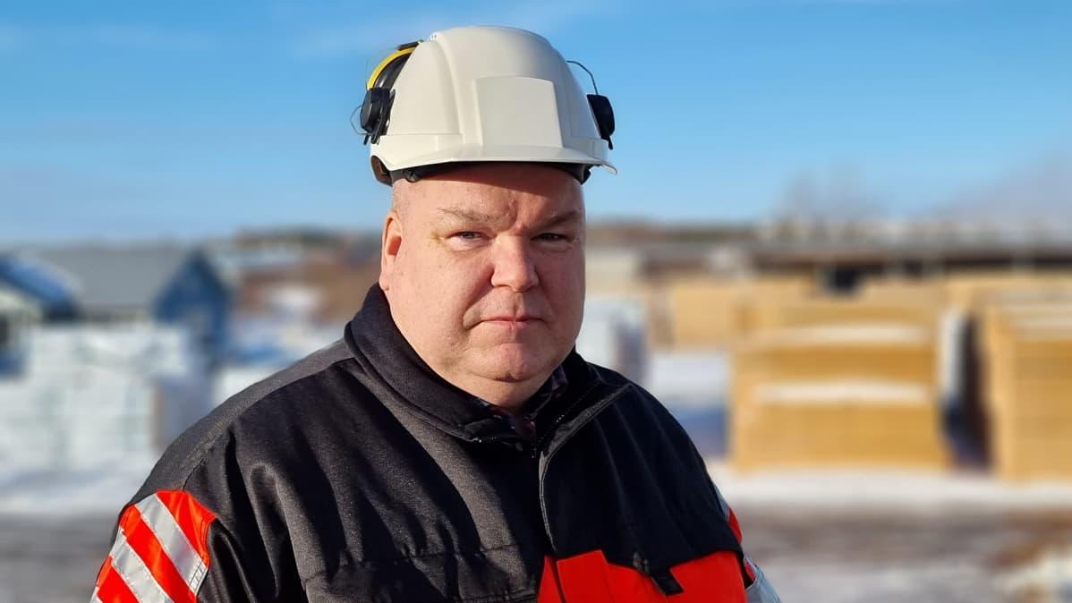 toimitusjohtaja Raine Koskinen Mustola Timber