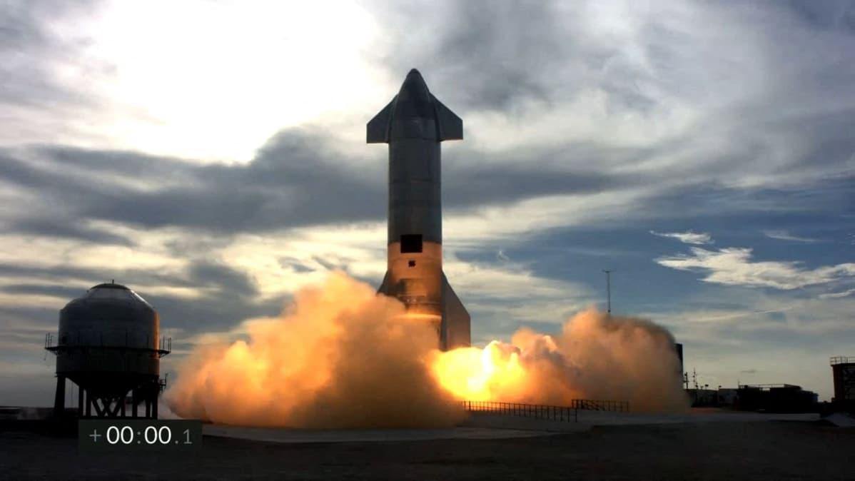 Raketti räjähti pian laskeutumisensa jälkeen.