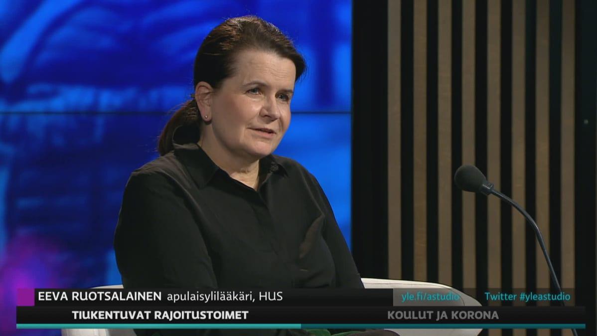 Apulaisylilääkäri Eeva Ruotsalainen HUS