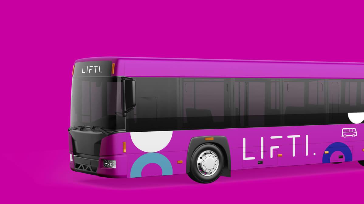 bussit muuttuvat vaasassa pinkeiksi