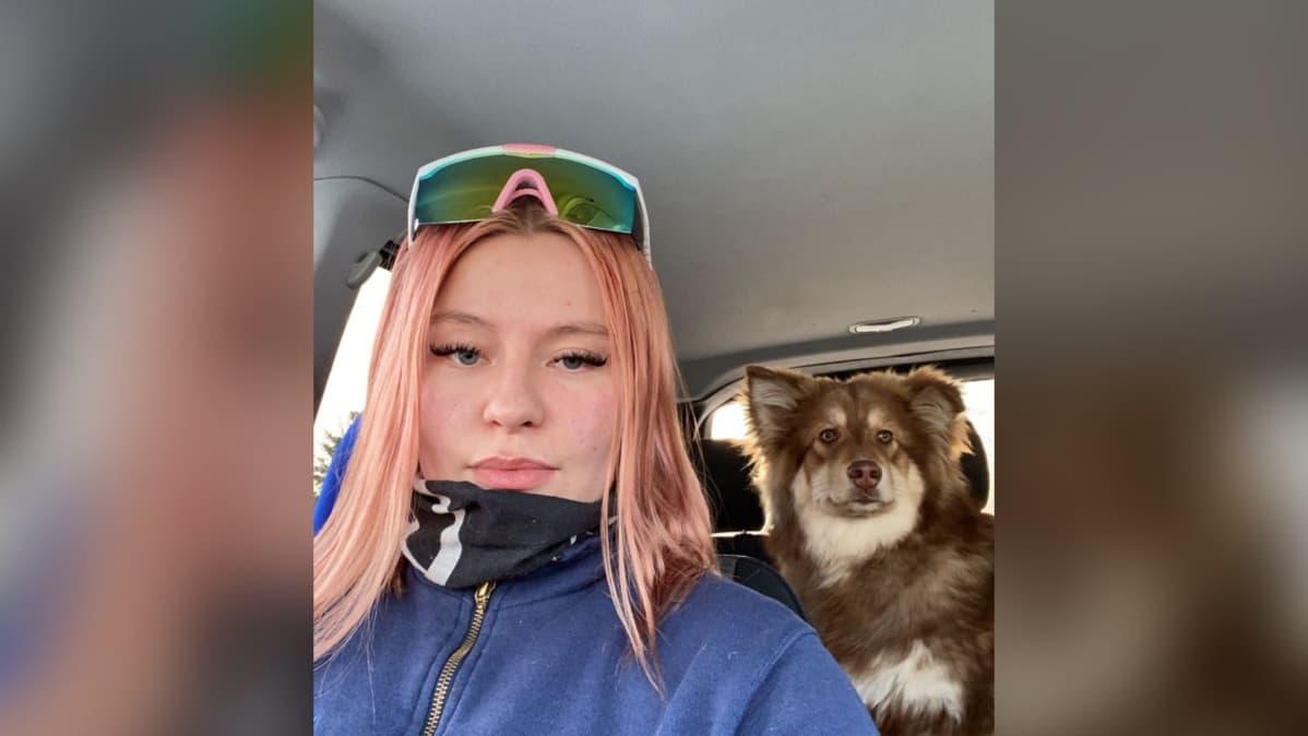 Karesuvantolainen Sunna Siilasjoki sai erikoisluvalla ajokortin 17-vuotiaana.