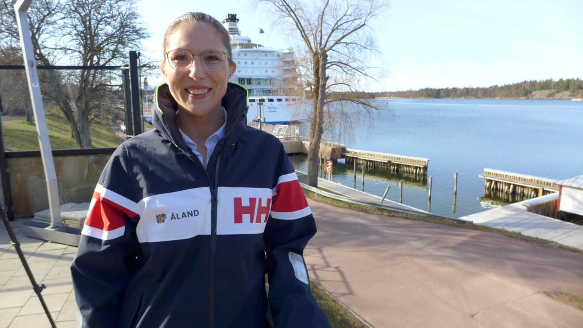 Visit Ålandin toimitusjohtaja Lotta Berner Sjölund