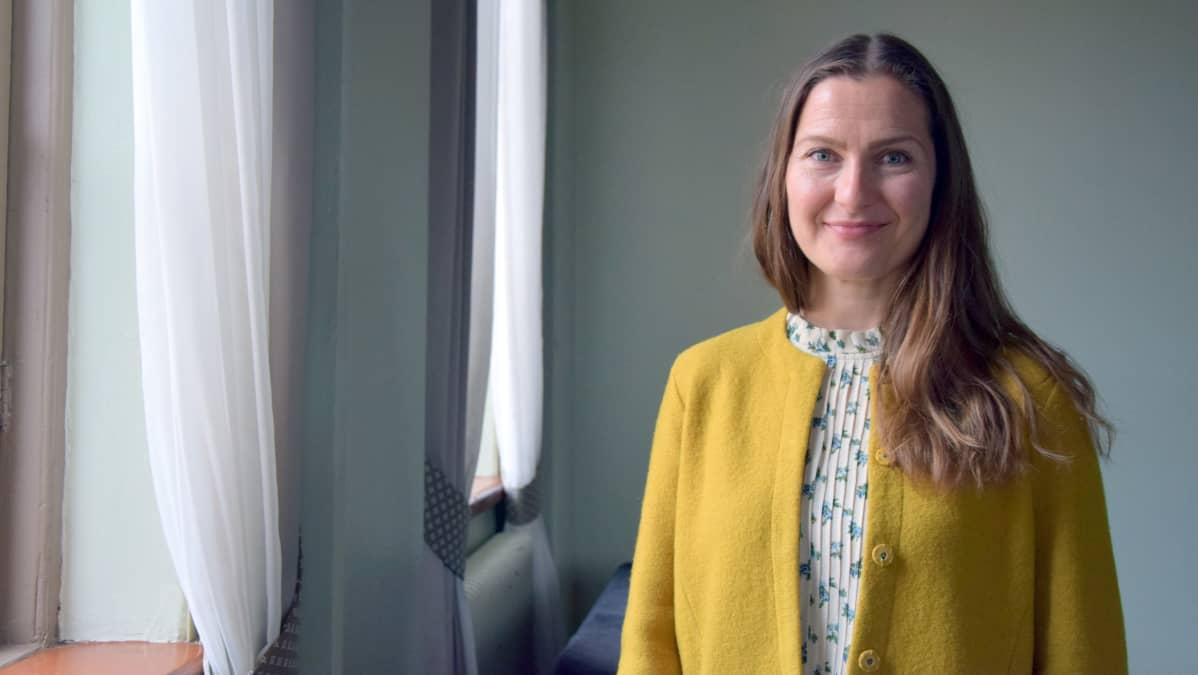Tutkimuspäällikkö Laura Forsman.