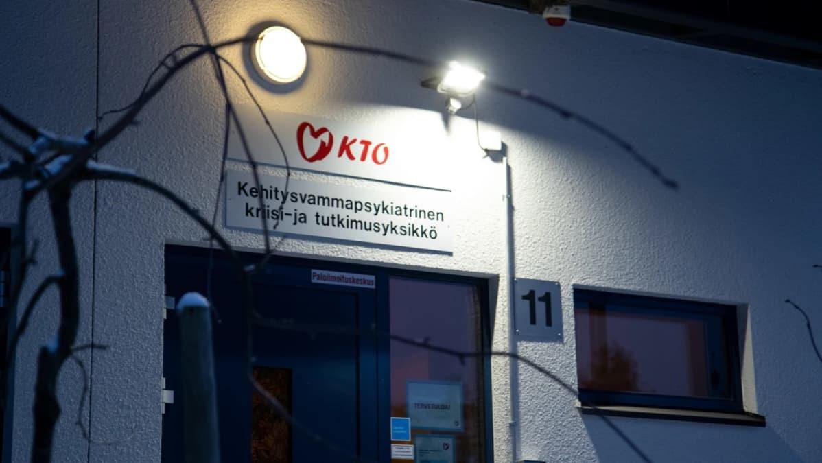 KTO:lla on useita eri yksiköitä vammaispalveluita varten.