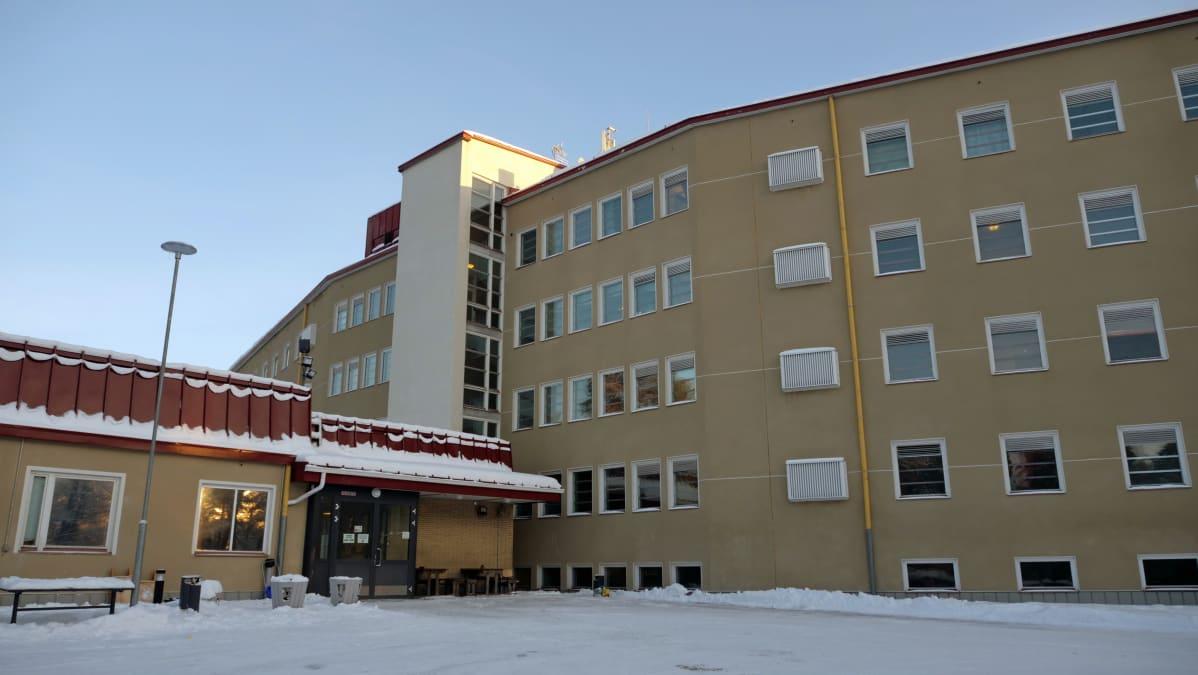 Oulun Heikinharju vastaanottokeskus 18.1.2019
