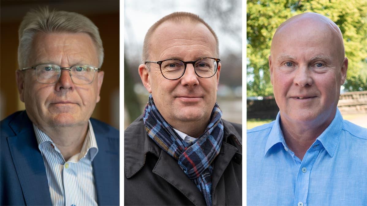 Jyri Häkämies, Jarkko Eloranta ja Antti Palola