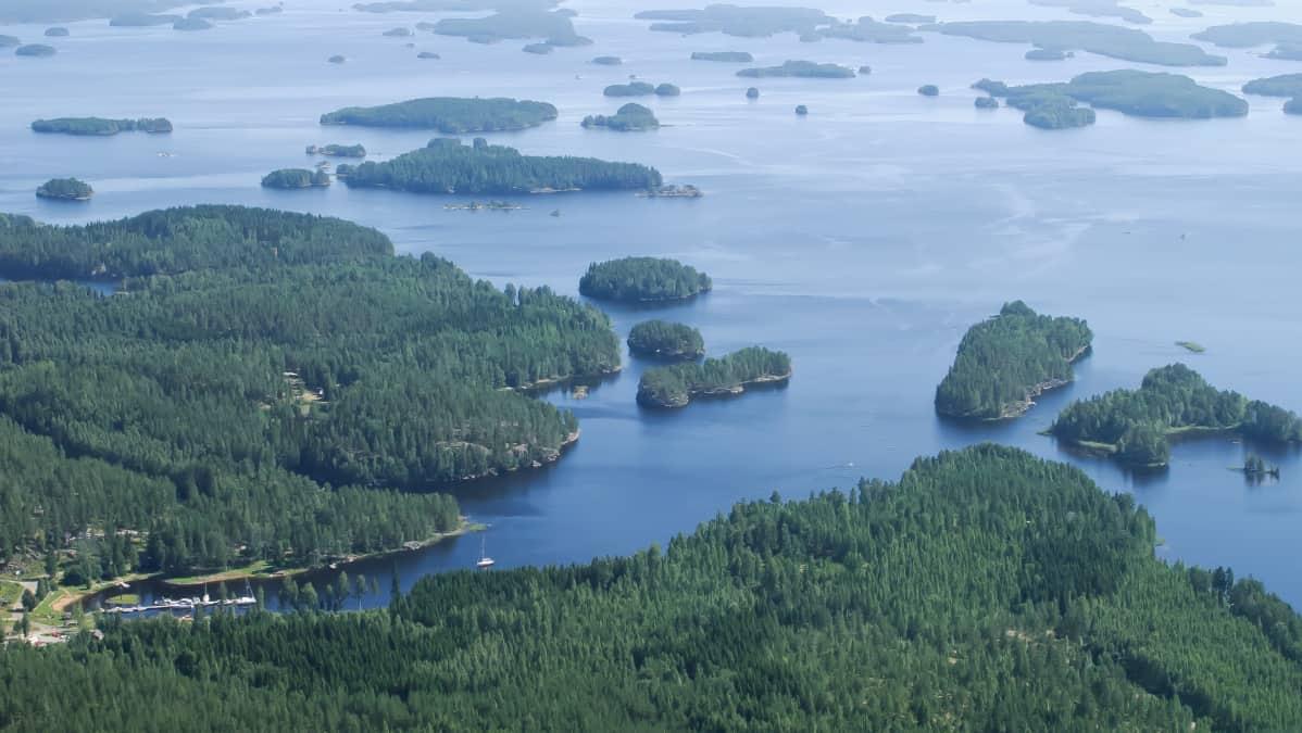 Ilmakuva Lomakeskus Järvisydämestä