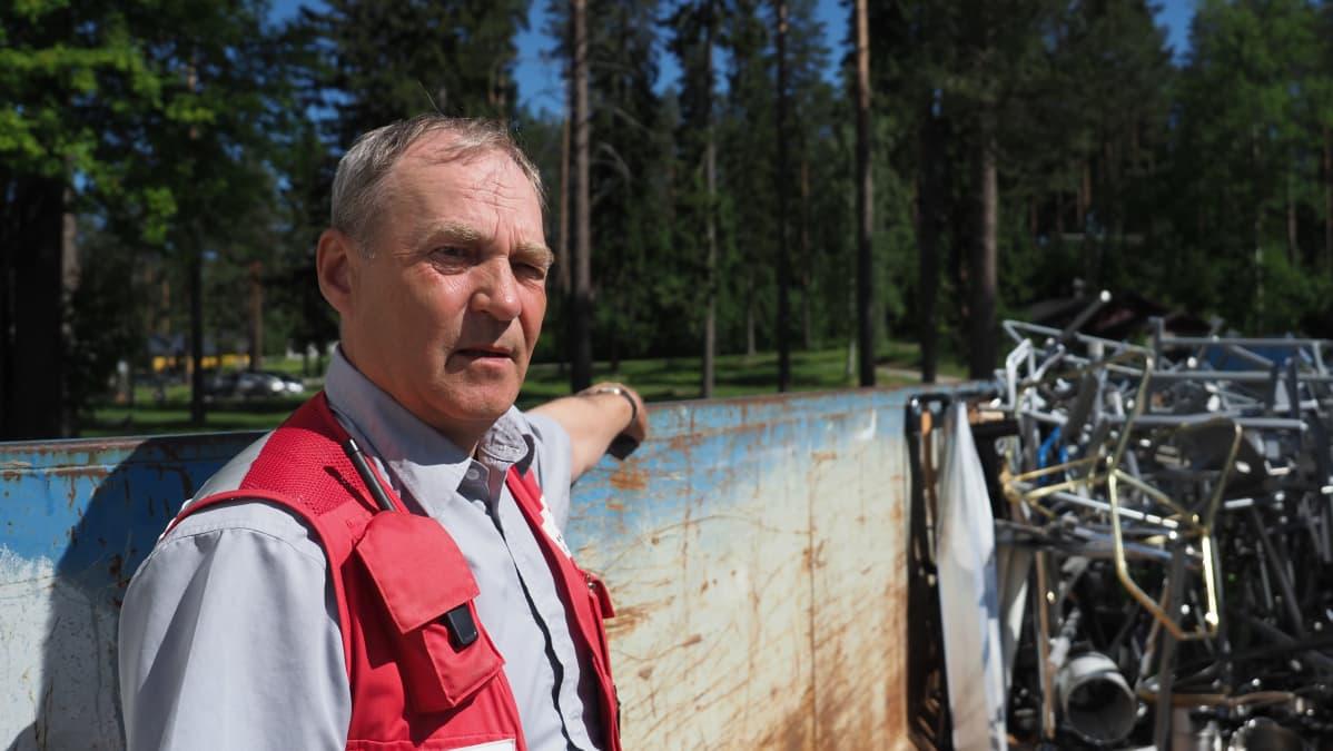 Ari Kuronen, Paiholan vastaanottokeskuksen johtaja