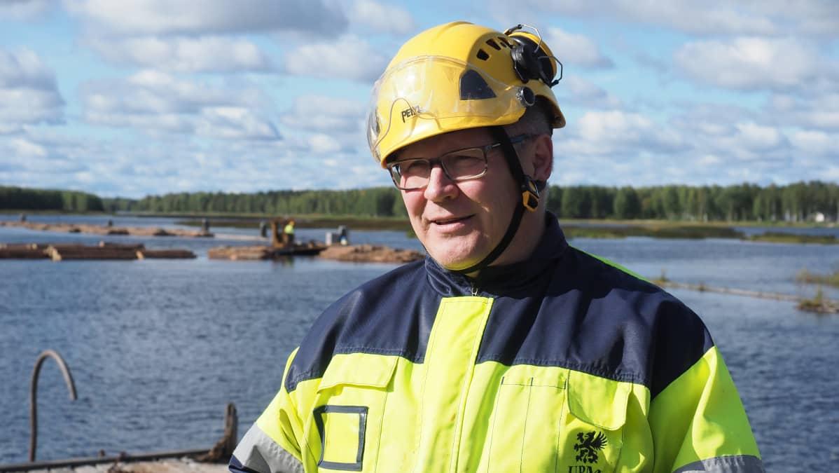Esa Korhonen, uittopäällikkö, Järvi-Suomen Uittoyhdistys