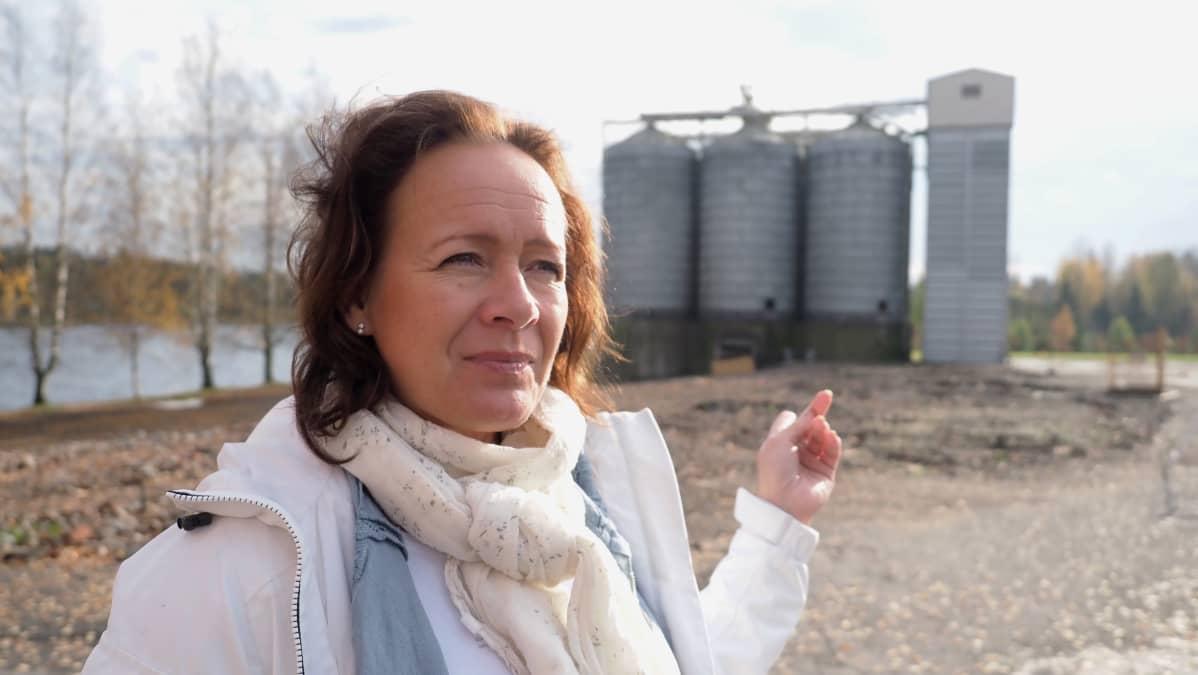 Anne Vänskä, toimitusjohtaja, Liperin Mylly