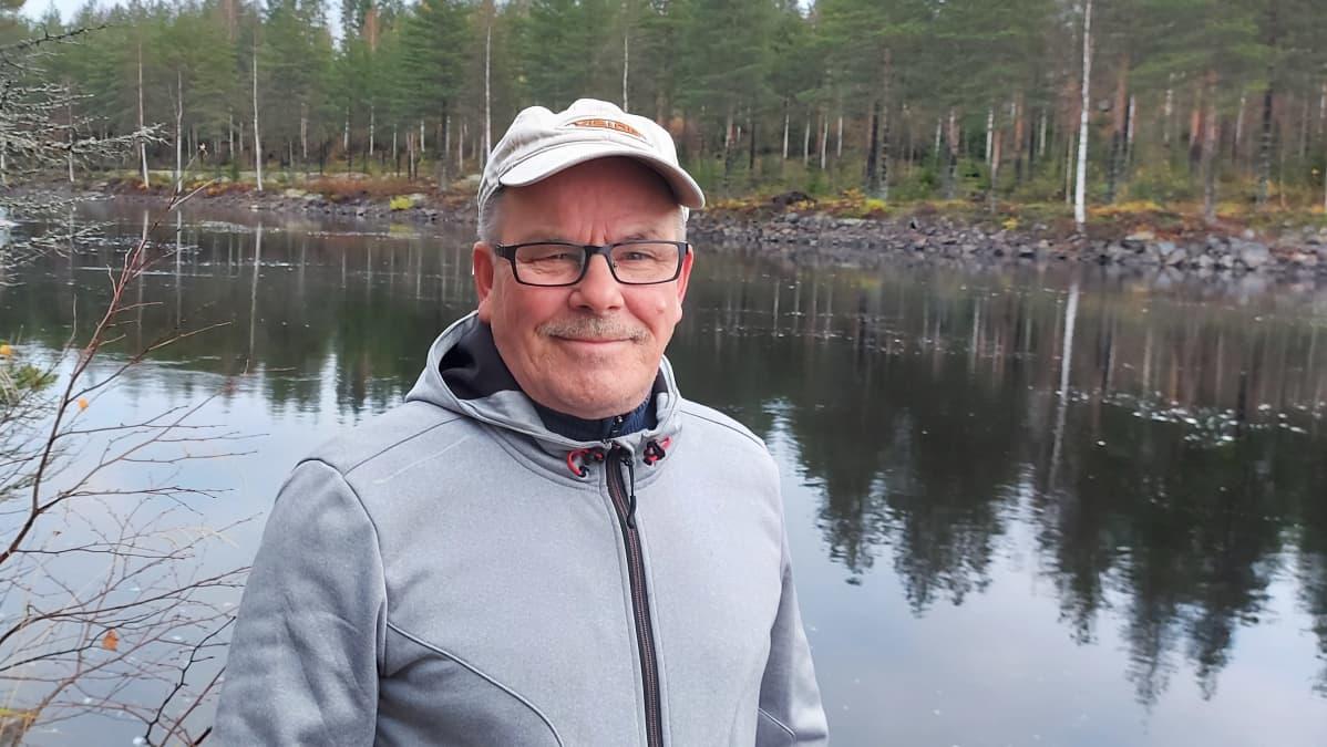 Pielisen-Karjalan kalatalousalueen puheenjohtaja Jukka Turunen.