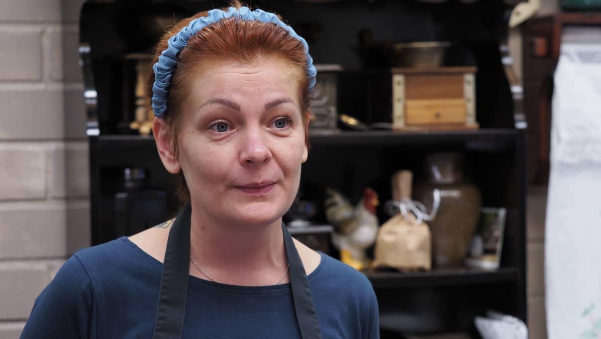 Mirva Kervinen, yrittäjä, Palvelu väkkärä Ky