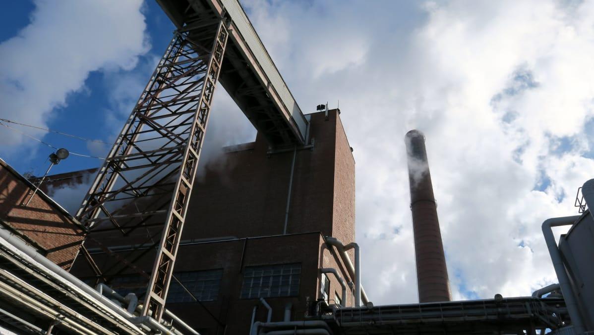 Kuva Sunilan tehtaalta Kotkasta