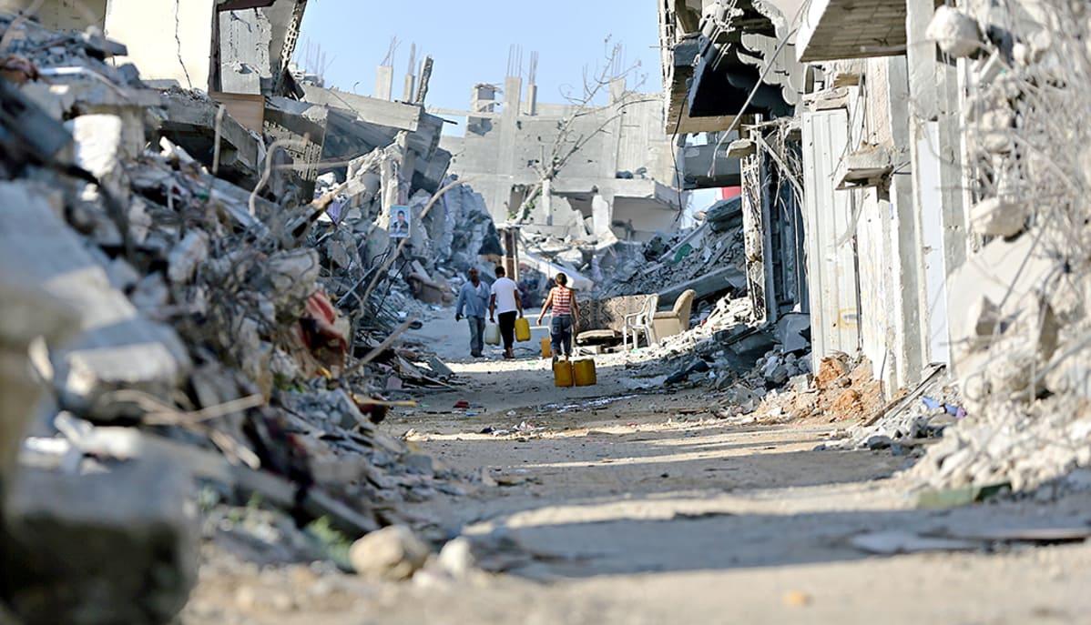 Kuva Gazasta.