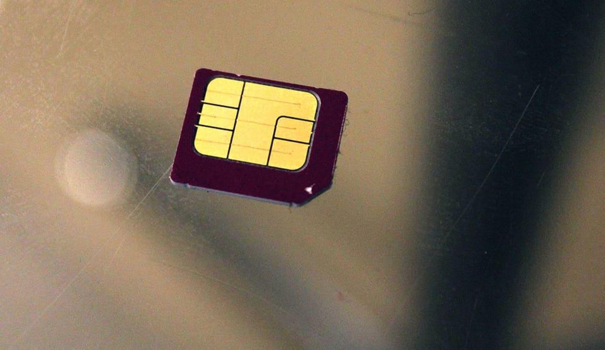 SIM-kortti.