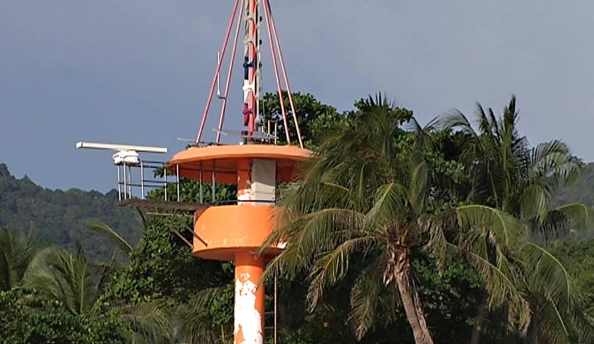 Patong Beachin tsunamivaroitustorni