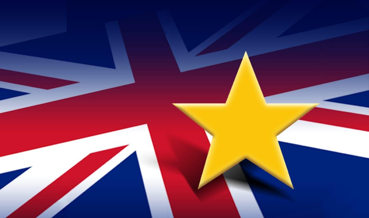 Englannin lippu ja tähti