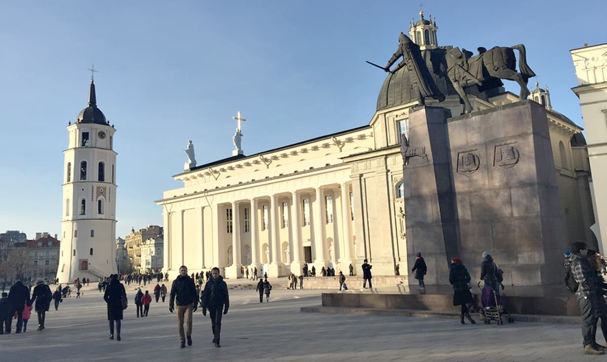 Liettuan pääkaupunki Vilna.