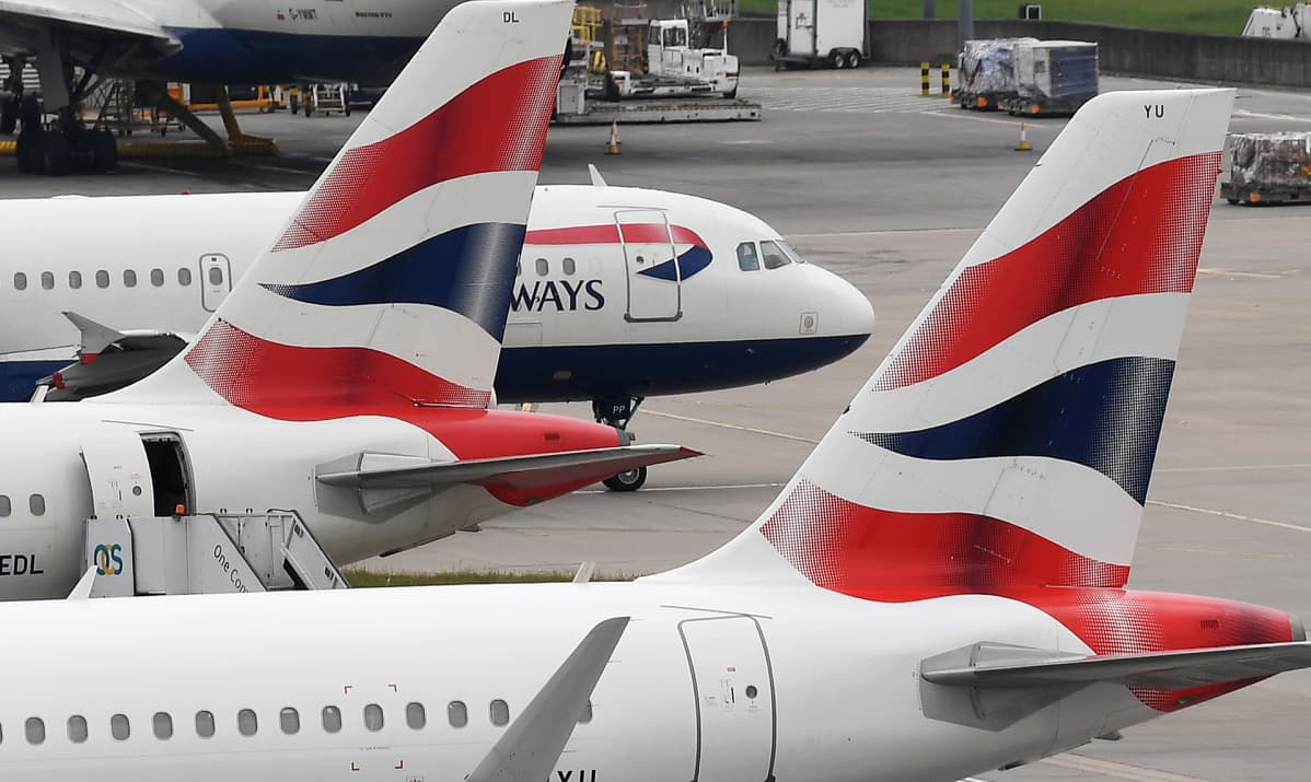 Lontoon lentokenttä.