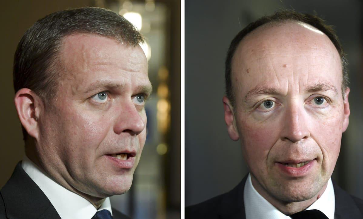 Petteri Orpo ja Jussi Halla-aho.