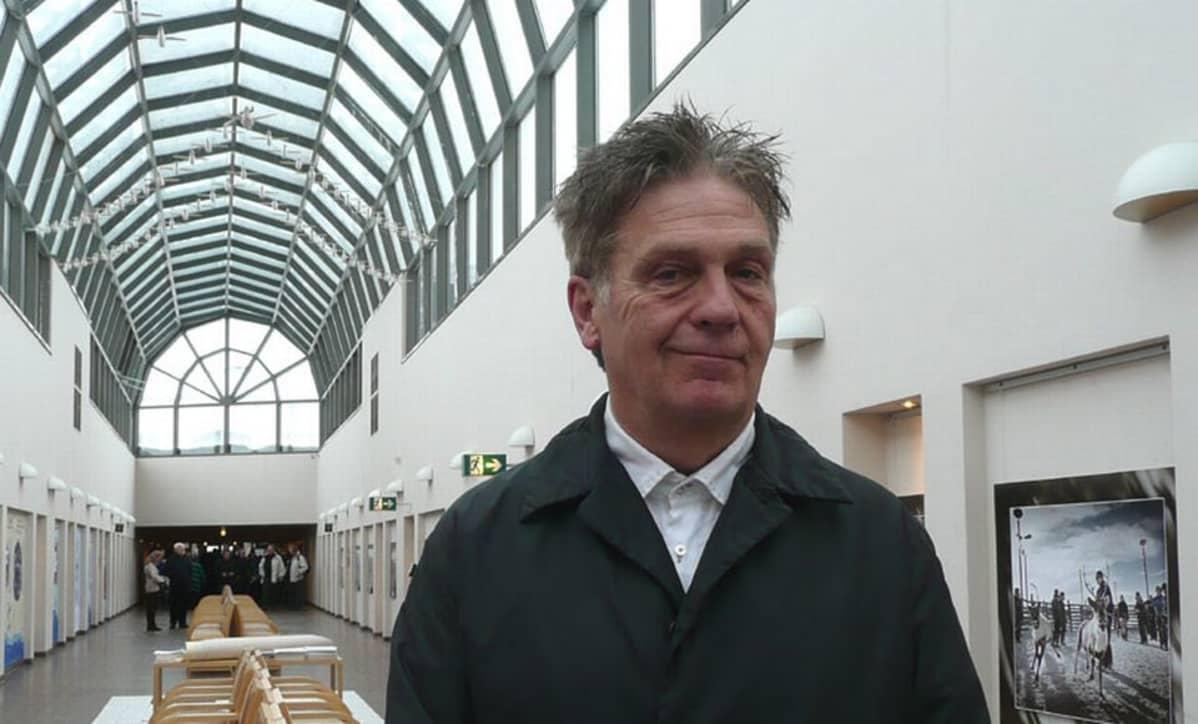 John Thackara on entinen Lontoon bussikuski, nykyinen suunnitteluguru.