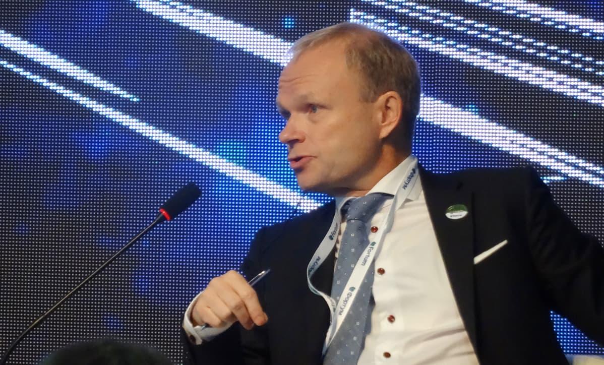 Pekka Lundmark luottaa Fortumin menestykseen Venäjällä.