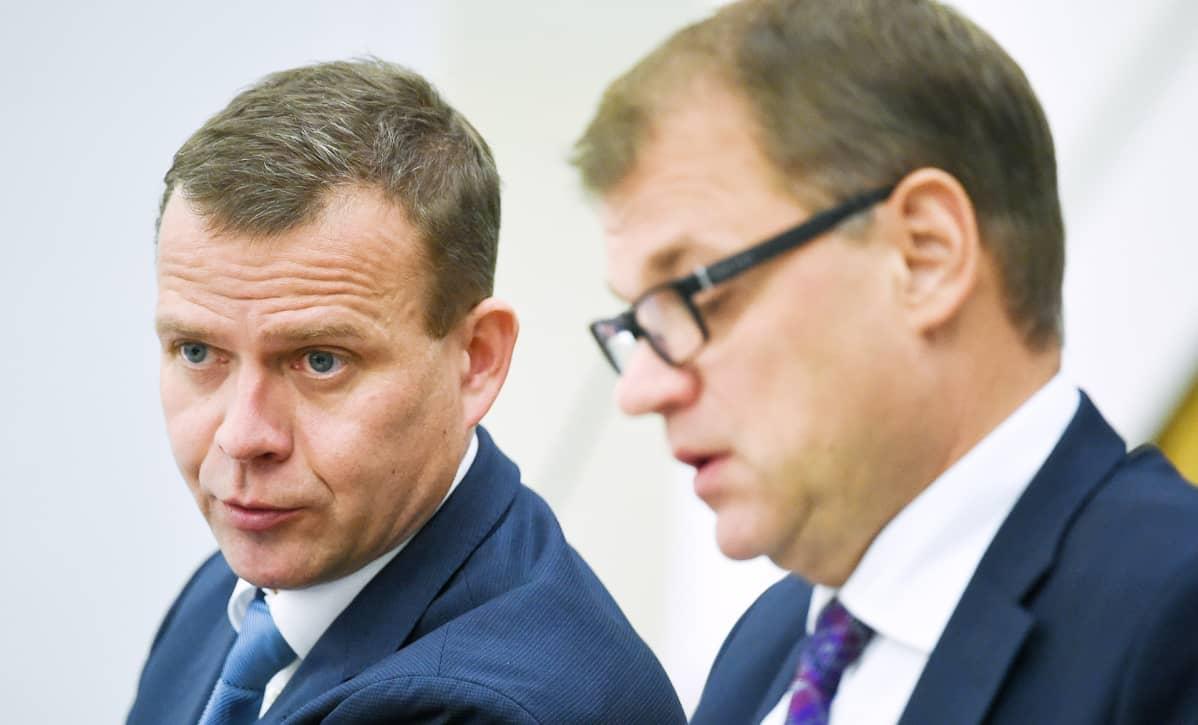 Petteri Orpo ja Juha Sipilä