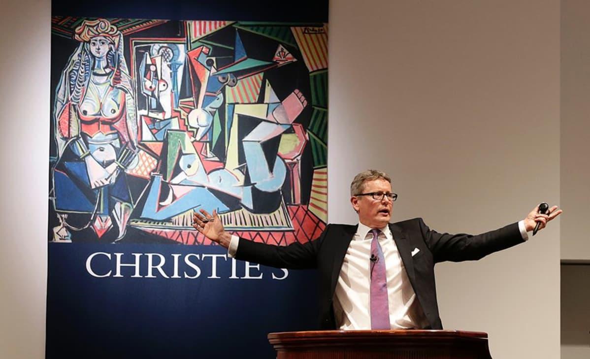 Meklari Jussi Pylkkänen myi New Yorkin huutokaupassa Pablo Picasson taulun lähes 161 miljoonalla eurolla.