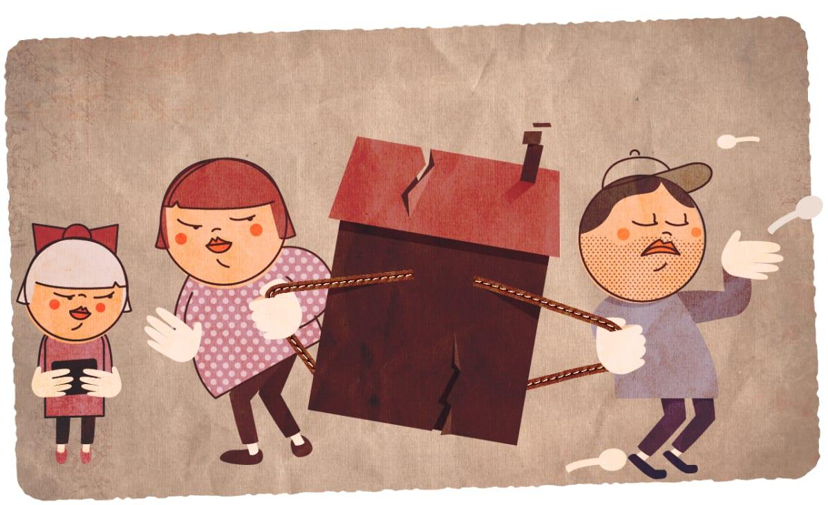 avioero ja asuntolaina