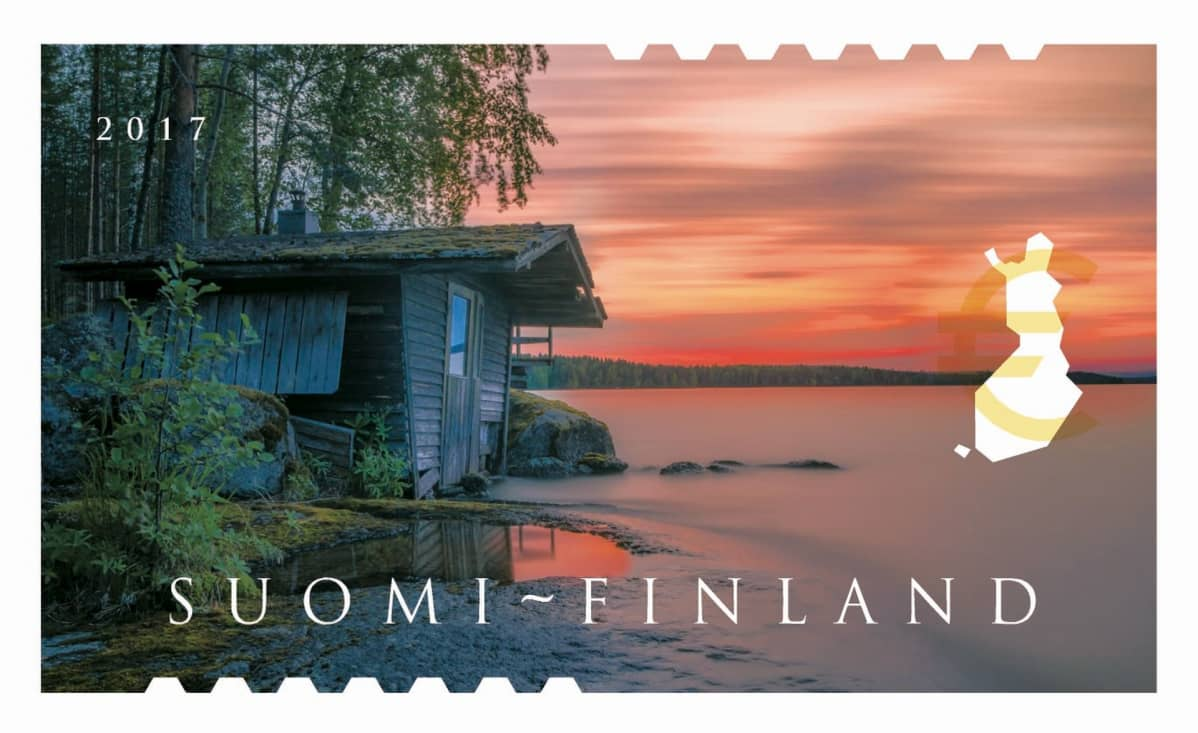 Klaus Welp suunnitteli Anselmi Aumon saunakuvasta Suomen toiseksi kauneimman postimerkin 2017.