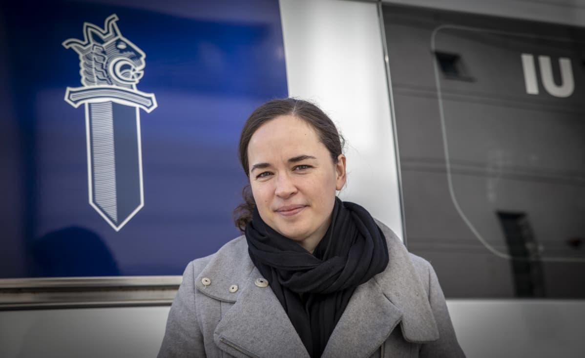 Ryhmäpäällikkö Rebecca Bucht Keskusrikospoliisista.