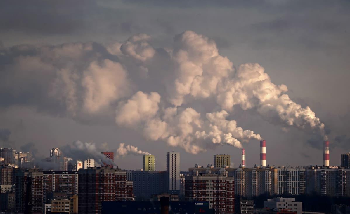 Moskovan savupiippuja