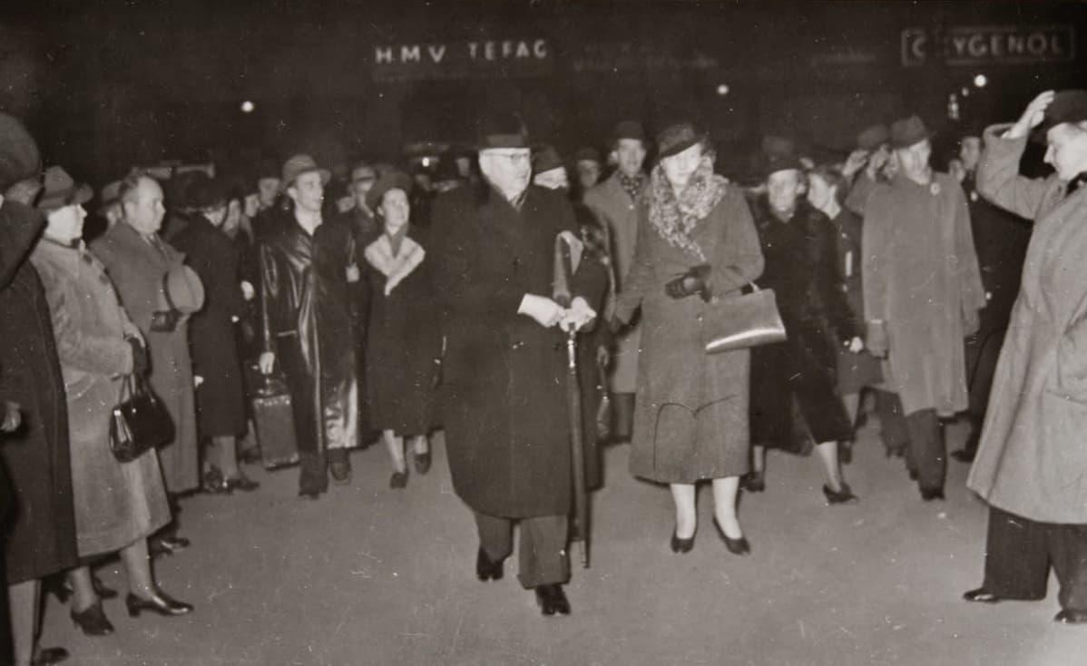 Paasikivi matkalla Moskovaan neuvotteluihin 1939