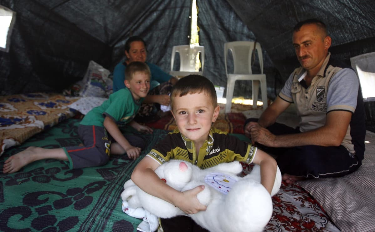 Irakilainen kristitty perhe